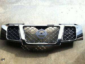 New Oem Factory 2007 2016 Nissan Armada Chrome Grille Assembly