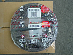 Totaline 20 Gauge 6 Wire Thermostat Cable New 250 Feet Roll Low Voltage Network