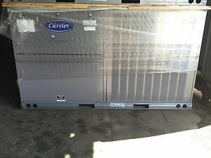 Carrier 7 5 Ton High Efficiency Package Unit Economizer 230v 3ph Gas elec Loaded