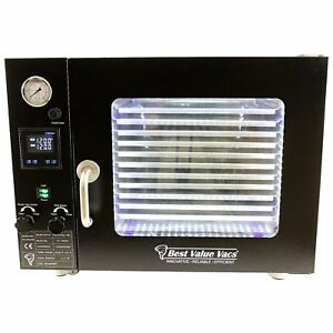 Best Value Vacs 1 9cf Bvv Vacuum Oven 5 Wall Heating Touch Screen Led