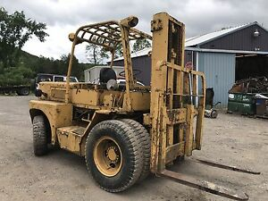 Komatsu Fd 50 1 Diesel Forklift Pneumatic Tires Lots Of Power Just Came In