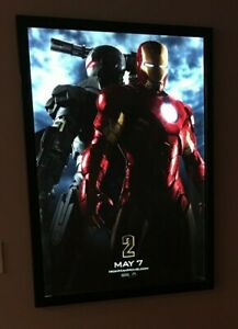 Led Light Up Movie Poster Frame Light Box Multiple Size Color