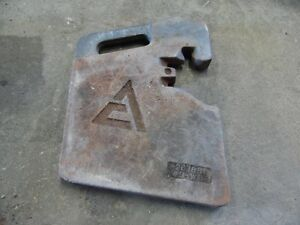 Allis chalmers 64 Lb Weights Multiple Available 267881 03 wa1 Tag 701