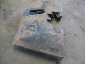 Allis chalmers 88 Lb Weights Multiple Available 269780wa 16 Tag 702