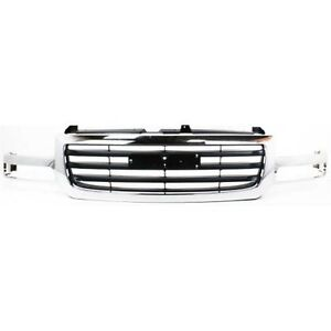 New Gm1200475 Grille For Gmc Sierra 1500 2003 2006