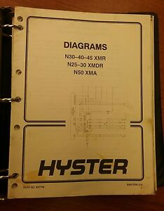 Collection Of Hyster Forklift Manuals