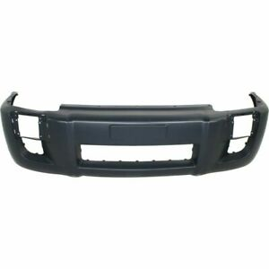 New Hy1000157 Front Bumper Cover W Fog Lamp Holes For Hyundai Tucson 2005 2009