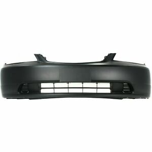New Ho1000197 Front Bumper Cover For Honda Civic 2001 2003