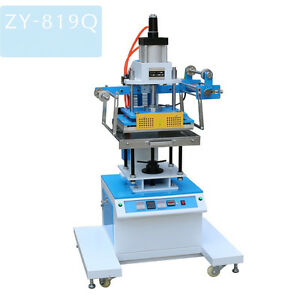 Zy 819 q Pneumatic Hot Foil Stamping Machine leather Logo Printer