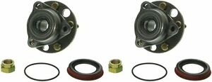 Hub Bearing For 2003 Chevrolet Cavalier For All Types Wheel Front Pair