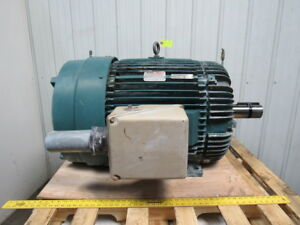 Reliance P44g0703b 125 Hp Ac Electric Motor 1785rpm 444t 460v Tefc Tested