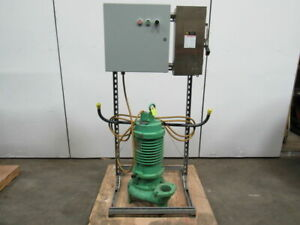 Weil Pump A b 250316 5 3 5hp Submersible Sump Pump W Starter Fused Disconnect