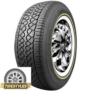 4 215 70r15 Vogue Tyre Whitewall W gold Tire
