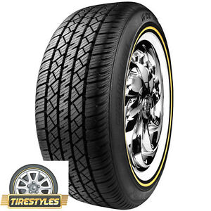 1 215 65r15 Vogue Tyre White W Gold 215 65 15 Tire