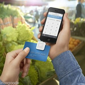 Square Credit Card Reader For Apple And Android Brand New White