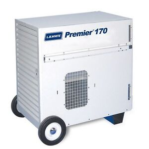Lb White Premier 170 Ductable Tent construction Heater Propane 170 000 Btu hr