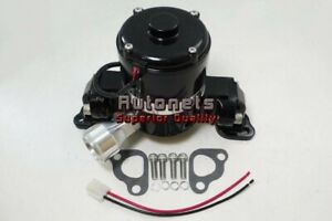 Small Block Ford Electric Water Pump High Flow Volume Black 289 302 351w Sbf
