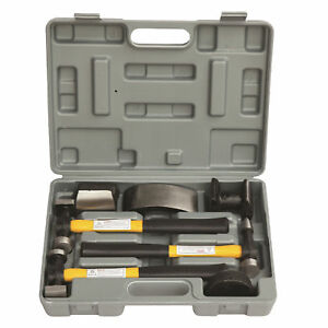 Hfs r 7 Pc Auto Body Fender Repair Tool Hammer Dolly Set