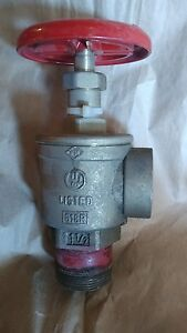 1 1 2 Fire Hose Cut Off Valve Angle Female 37wl Bh Fig97