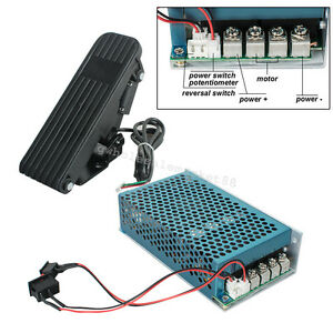 Reversible Dc Motor Speed Controller Pedal Accelerator 60a 5000w High Quality