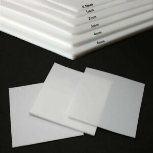 Ptfe Teflon Film Sheet Plate Thickness 0 3mm 0 5mm 1mm 2mm 3mm 4mm 5mm 6 8 10 Mm