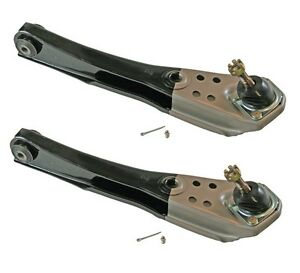 New 1967 Mustang Suspension Lower Control Arms Pair Scott Drake 2 Tone Paint
