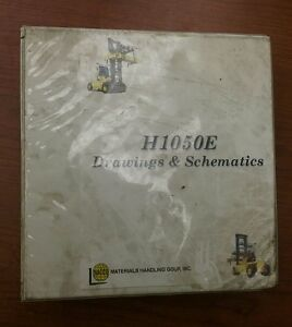 Hyster Forklift Truck Drawings Schematics Manual H1050e
