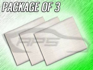 C36286 Cabin Air Filter For Ford Edge Fusion Continental Mkx Mkz Package Of 3