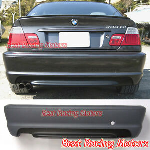 M tech Ii Style Rear Bumper Cover Fits 00 06 Bmw E46 3 series 2dr Coupe