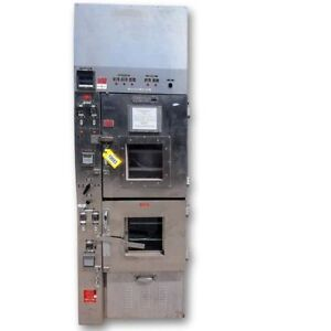 Used Gruenberg Industrial Dual Cabinet Vacuum Drying Oven C v15h4 5m