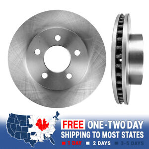 Front 288 Mm Oe Brake Rotors Pair For 2002 2003 2004 2005 2006 2007 Jeep Liberty