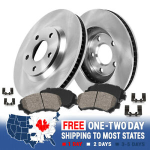 Front Rotors And Quiet Ceramic Brake Pads For 2013 2014 2015 2016 Dodge Dart