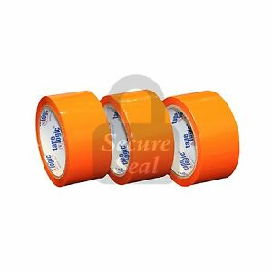 12 Roll Orange 2 X110 Colored Packing Carton Sealing Shipping Tape 2in X 110yds