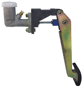 Lightweight Steel Swing Mount Clutch Pedal With 3 4 Bore Master Cylinder 1867
