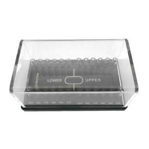 24 Holes Dental Orthodontic Organizer Holder Case Box For Square Arch Wires