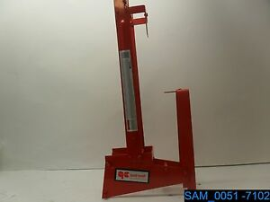 Qual Craft 2204 Scaffold Pump Jack Work Bench Guard Rail Combo Qual craft