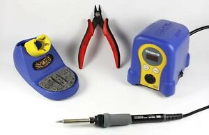 New Hakko Digital Fx888d Chp170 Bundle Includes Soldering Station Chp17
