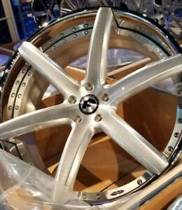 24 Forgiato F2 20 Ecl 3 piece Wheels Range Rover Hse Sport Super Charged