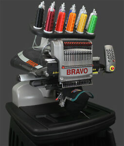 Melco Bravo Package B 16 Needle Embroidery Machine 0 Interest 60 Months