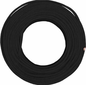 50 Ft 6 3 Black Stranded Cu Simpull Nm b Cable Wire 6 Copper Conductor Gauge