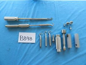 Zimmer Surgical Orthopedic Impactor Extractor Instruments