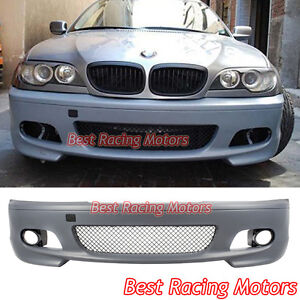 M tech Ii Style Front Bumper Cover Fits 00 06 Bmw E46 3 series 2dr Coupe