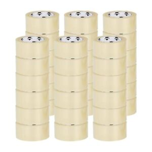 36 Rls Clear Packing Tape For Packaging Cartons Box Sealing Moving 2 x100 Yds