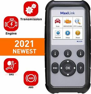 Autel Ml629 Diagnostic Tool Can Code Reader Obd2 Scanner Better Al619 As Al629