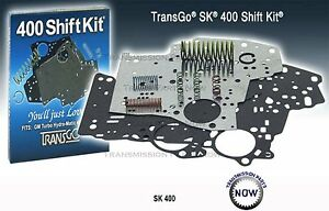 Gm Th400 Th 400 Sk400 Transmission Shift Kit Transgo 65 Up Sk 400 Chevy 34165t