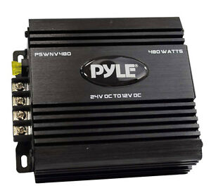 Pyle Pswnv480 24v Dc To 12v Dc 480w Power Step Down Converter W Pmw Technology