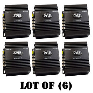 Lot Of 6 Pyle 24v Dc 12v Dc 480w Power Step Down Converter W Pmw Technology