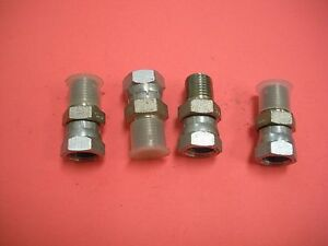 Hydraulic Fitting Swivel Straight Male To Female 1 4 X 1 4 Lot Of 4