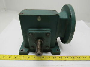Reliance Electric 10013493 qe Gearbox Speed Reducer 10 1 Ratio 471in lbs Torque