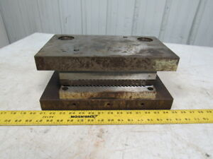 Dieco Punch Press Die Set shoe Rectangular Back Post 14 X 9
